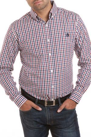 Рубашка William hunt. Цвет: синий