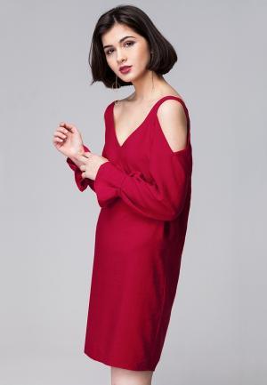 Платье Vilatte. Цвет: красный