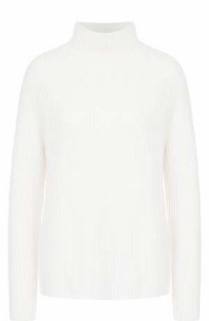 Вязаный пуловер из кашемира FTC. Цвет: белый