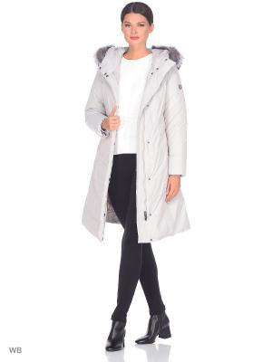 Пальто CAMEO AVI. Цвет: светло-серый