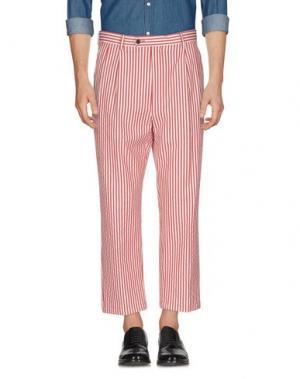 Повседневные брюки LC23. Цвет: красный