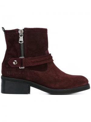 Ботинки Dalida Nubikk. Цвет: красный