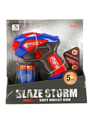 Пистолет с мягкими пулями VELD-CO. Цвет: черный, красный, синий