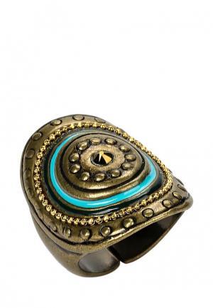Кольцо Franck Herval. Цвет: коричневый