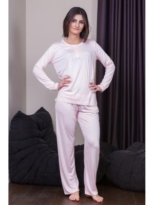 Пижама Oztas underwear. Цвет: розовый