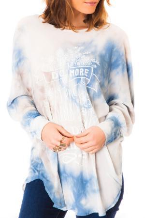 Блуза LES GAMINES DE PARIS. Цвет: синий