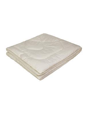 Одеяло Овечка-Комфорт облегченное 140х205 ECOTEX. Цвет: бежевый