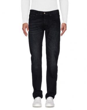 Джинсовые брюки COVERT. Цвет: черный
