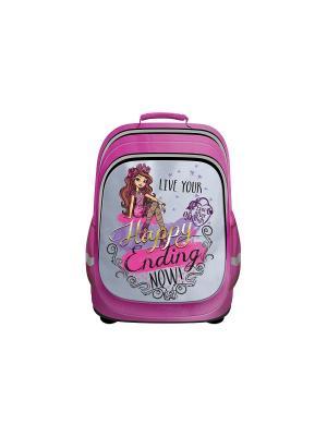 Рюкзак Nice bag Ever After High ортопедическая спинка Mattel. Цвет: розовый