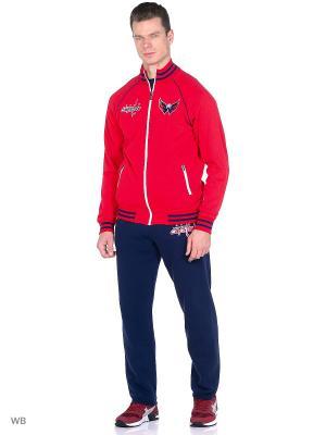 Толстовка NHL Capitals Atributika & Club. Цвет: красный