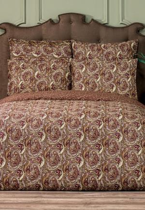 Комплект постельного белья Togas. Цвет: коричневый