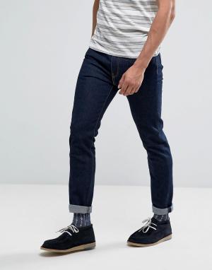 Levis Темные джинсы скинни 510. Цвет: темно-синий