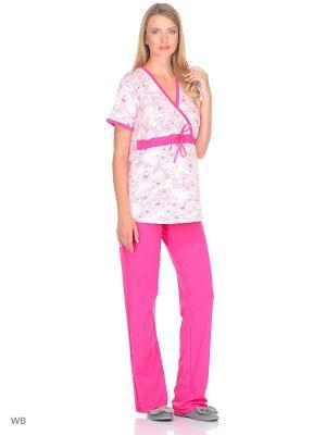 Пижама Nuova Vita. Цвет: фуксия, розовый