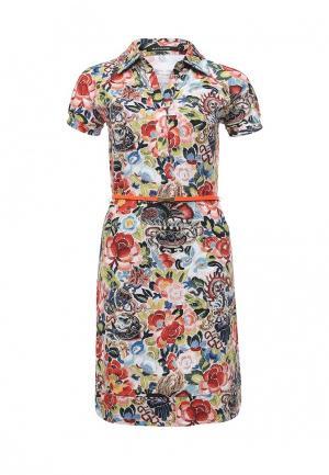 Платье Savage. Цвет: разноцветный