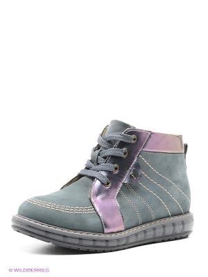 Ботинки TAPiBOO. Цвет: серый