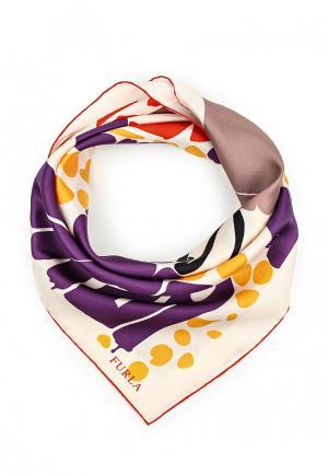 Платок Furla. Цвет: разноцветный