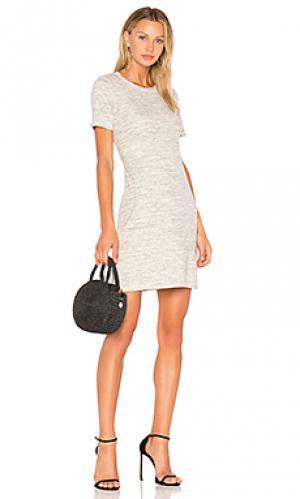 Платье cherry b3 Theory. Цвет: серый