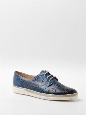 Туфли BELWEST. Цвет: голубой