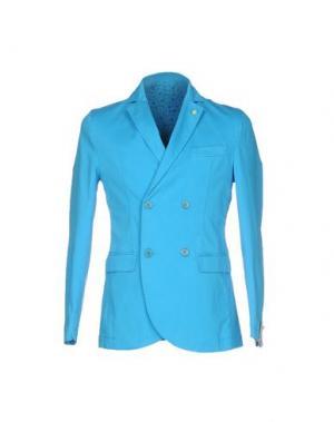 Пиджак BARBATI. Цвет: бирюзовый