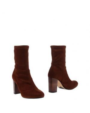 Полусапоги и высокие ботинки VINCE CAMUTO. Цвет: какао