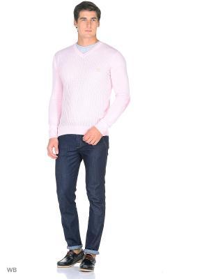 Пуловер Bilwelli. Цвет: бледно-розовый