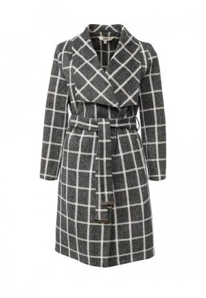 Пальто Y by Yumi. Цвет: серый