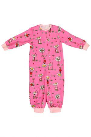 Пижама Веста. Цвет: розовый