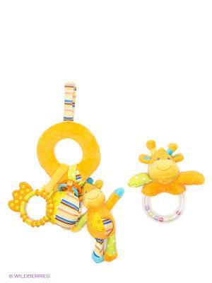 Набор подарочный Жирафики. Цвет: желтый
