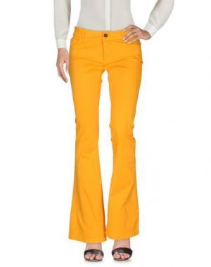 Повседневные брюки ANOTHER LABEL. Цвет: абрикосовый