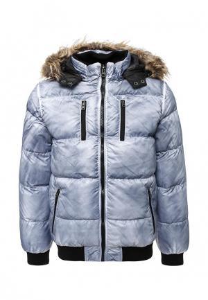 Куртка утепленная Urban Classics. Цвет: голубой