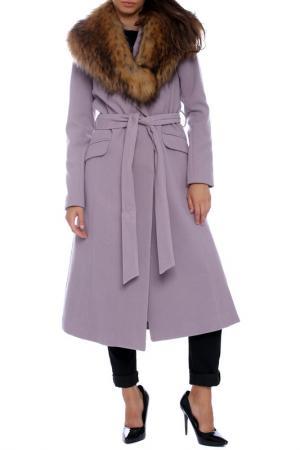Пальто Emma Monti. Цвет: lilac