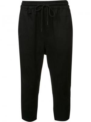 Укороченные брюки в стиле casual Publish. Цвет: чёрный