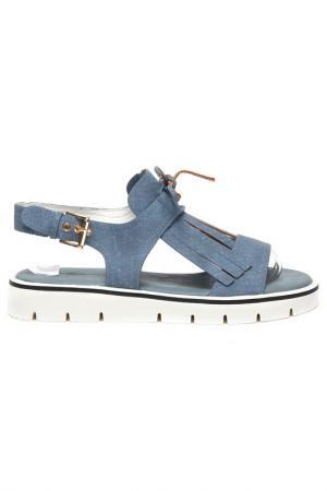 Туфли открытые Keddo. Цвет: светло-синий