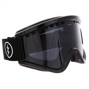 Маска для сноуборда  Egv Gloss Black Jet Electric. Цвет: черный