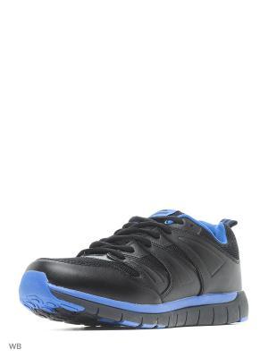 Кроссовки Sigma. Цвет: черный, синий
