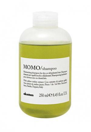 Шампунь для глубокого увлажнения волос Davines. Цвет: зеленый