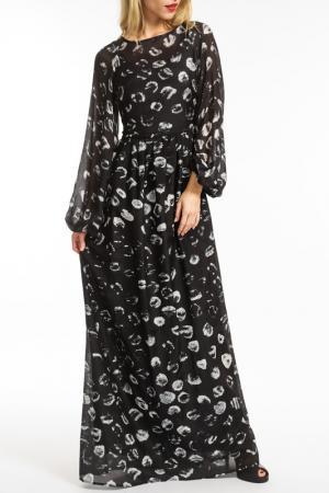 Платье Roberta Scarpa. Цвет: черный
