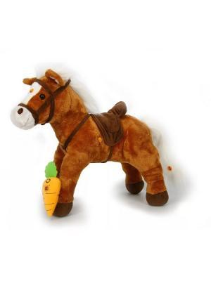 Пони TEEBOO коричневый интерактивный (9 функций), 65 см TEEBOO.. Цвет: коричневый