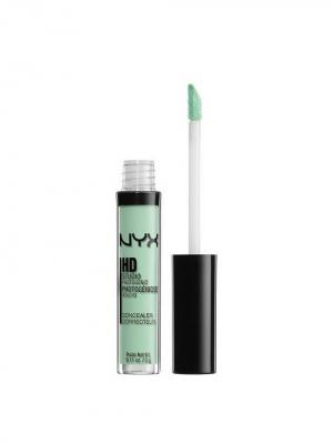 Жидкий консилер для лица. CONCEALER WAND - GREEN NYX PROFESSIONAL MAKEUP. Цвет: зеленый