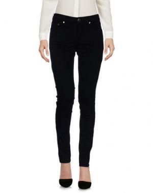 Повседневные брюки NO LAB. Цвет: черный