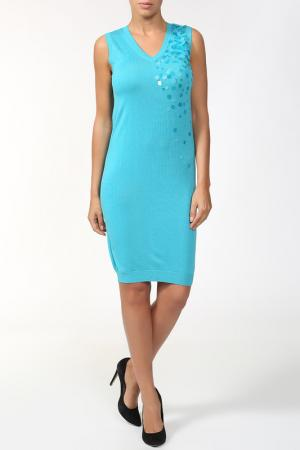 Платье Whos Who Who's. Цвет: голубой