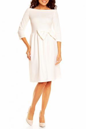 Платье NOMMO. Цвет: белый
