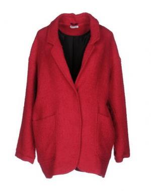 Пальто BEAYUKMUI. Цвет: фуксия