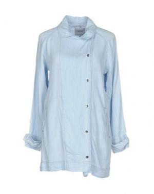 Джинсовая рубашка RAILS. Цвет: синий