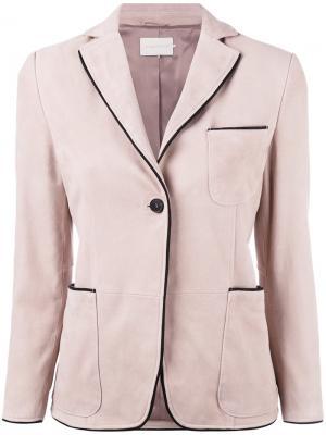 Пиджак Pipin  LAutre Chose L'Autre. Цвет: розовый и фиолетовый
