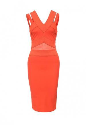 Платье River Island. Цвет: оранжевый