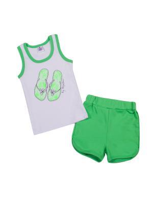 Комплект одежды PEPELINO. Цвет: салатовый