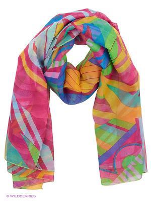 Парео текстильное Vittorio Richi. Цвет: фуксия, синий