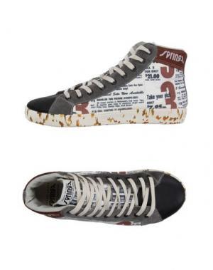 Высокие кеды и кроссовки SPRINGA. Цвет: белый