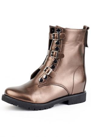 Ботинки Norka. Цвет: коричневый